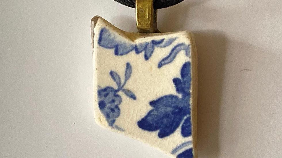 Sea Pottery Pendant