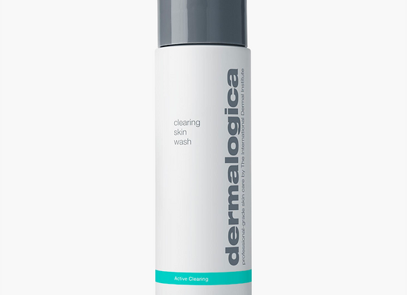 CLEARING SKIN WASH/ nettoyant moussant peau à imperfections