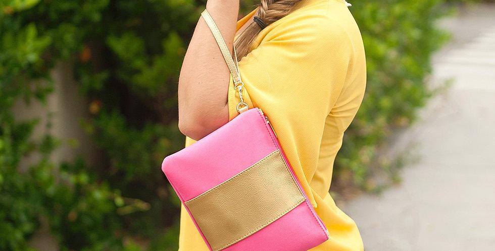 Cabana Wristlet (Pink)