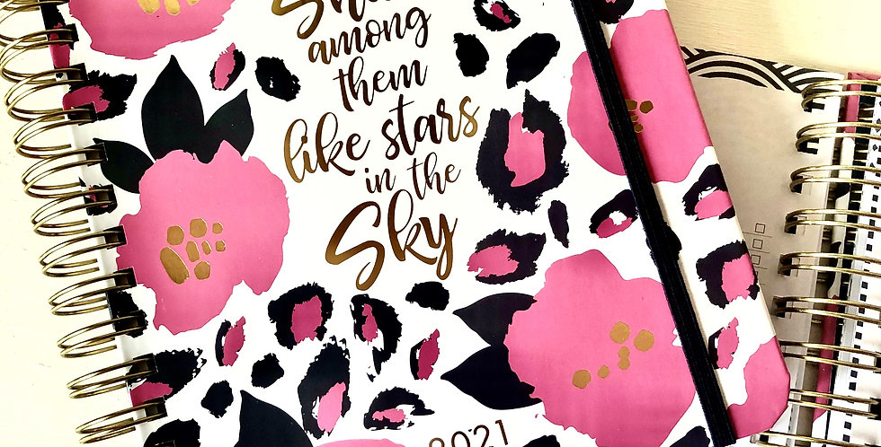 2021 Planner - Stars in the Sky