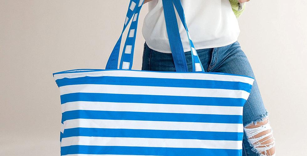 Stripe Tote (Blue)