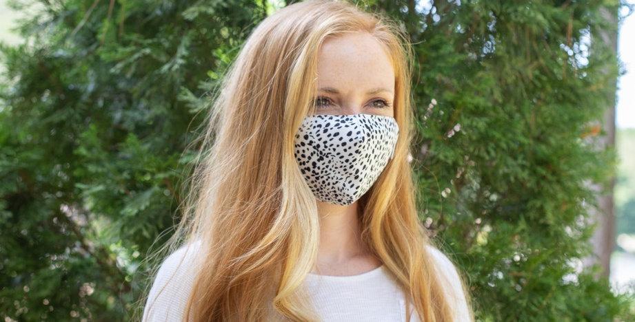 Dalmatian Face Mask