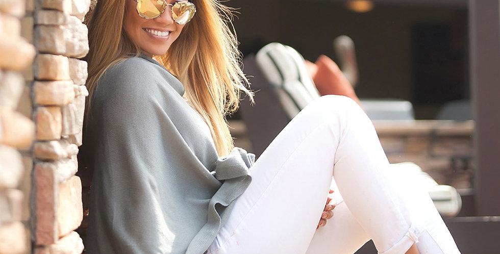 Chelsea Poncho (Grey)