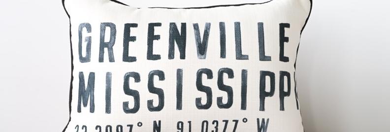 Poster Coordinates Pillow