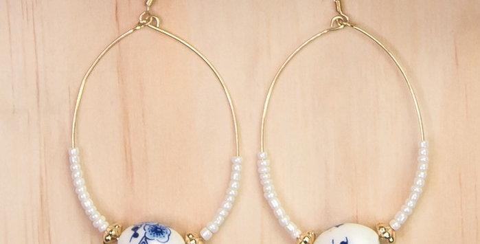 Summerline Earrings - White