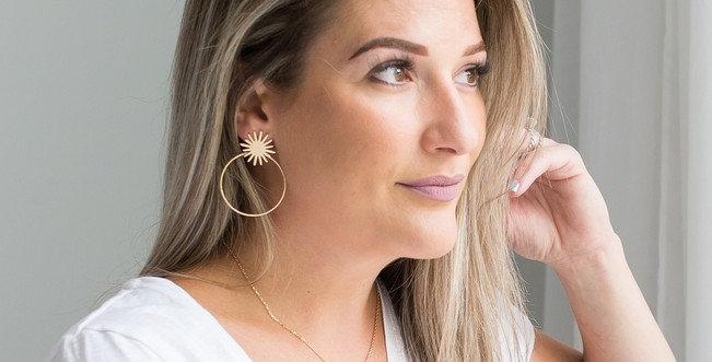 Demi Earrings - Gold