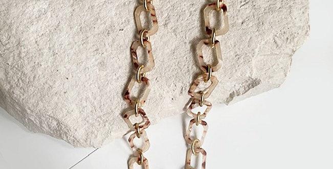 Panama Necklace (Light Tortoise)