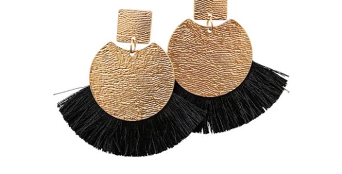 Winslow Earrings (Black)