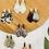 Thumbnail: Paris Earrings (Gray Tortoise)