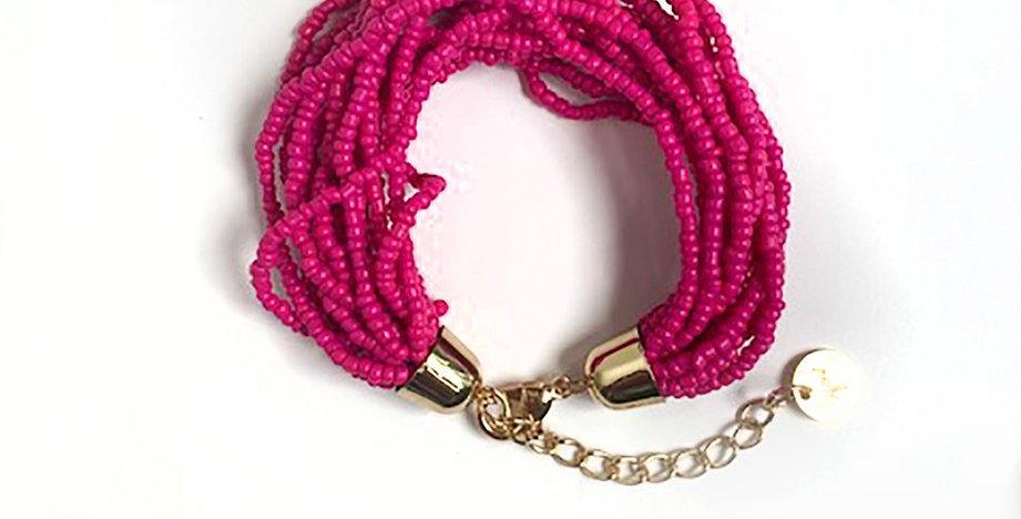 Lanai Bracelet (Hot Pink)