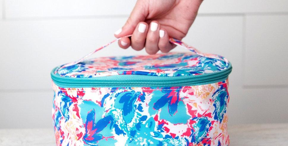 Cosmetic Bag (Peony Sorbet)