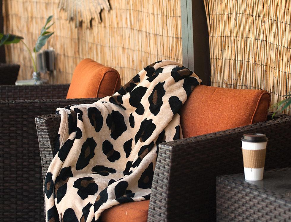 Leopard Plush Blanket