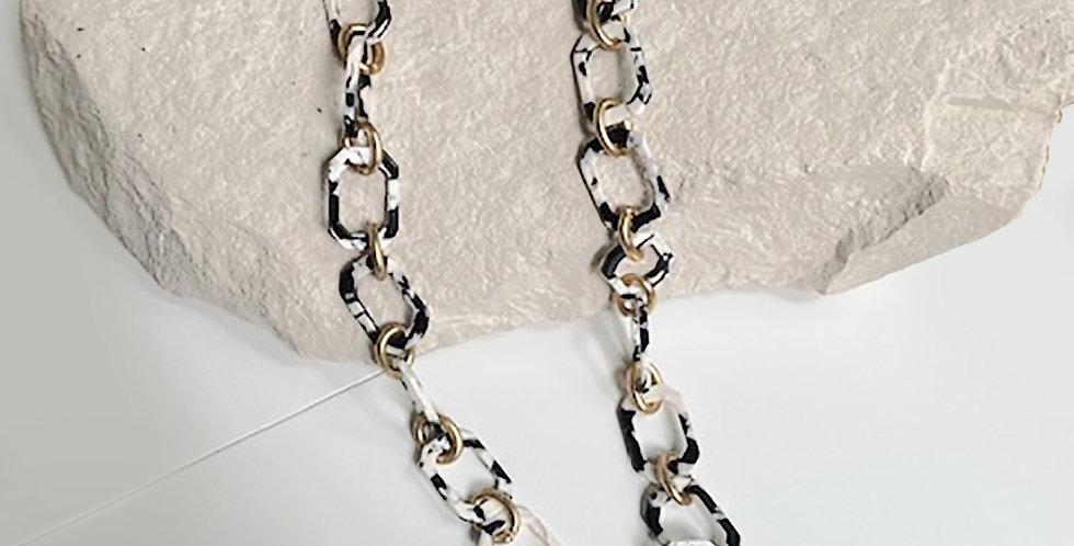 Panama Necklace (Black Tortoise)