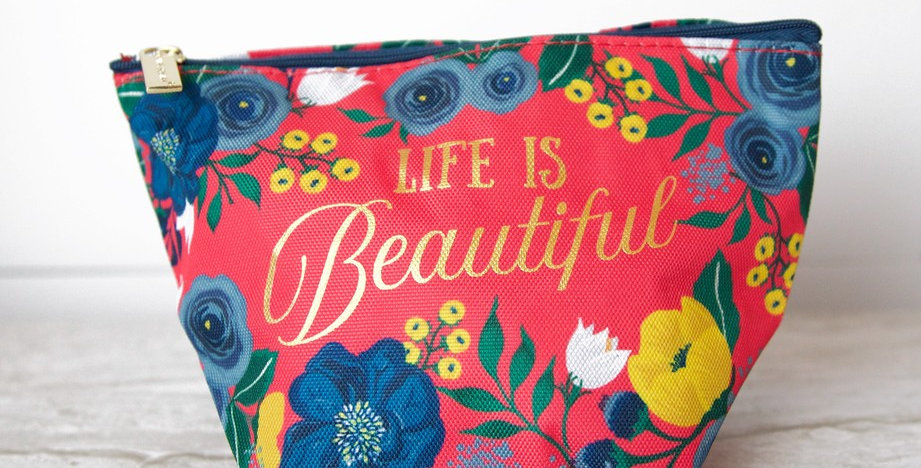 Carry All Bag - Life is Beautiful