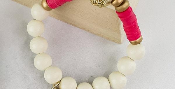 Victoria Bracelet (Hot Pink)