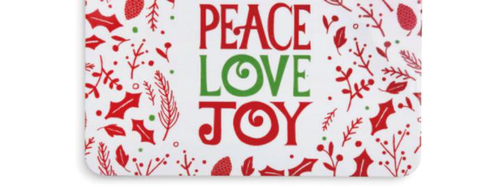 Holiday Melamine Tray & Spreader (Peace)