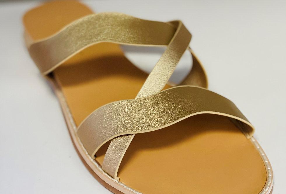 River Sandal - Gold