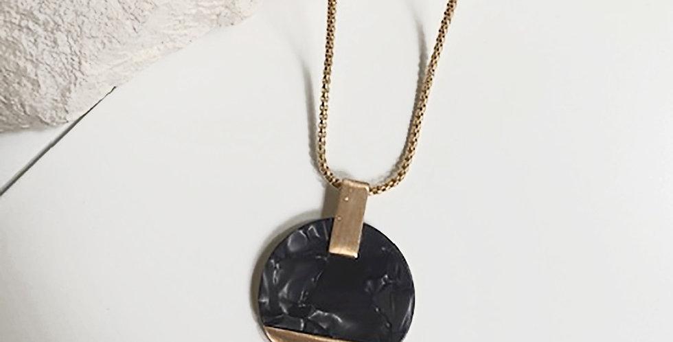 Paris Necklace (Charcoal)