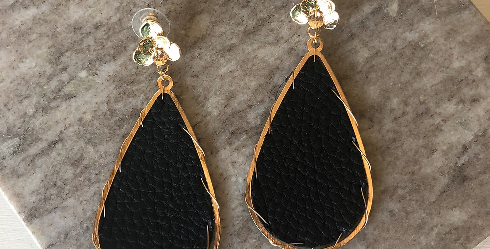 Miami Earrings (Black)