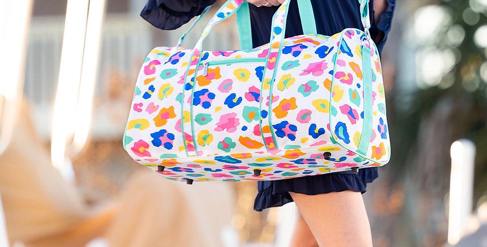 Fun Leopard Duffel Bag