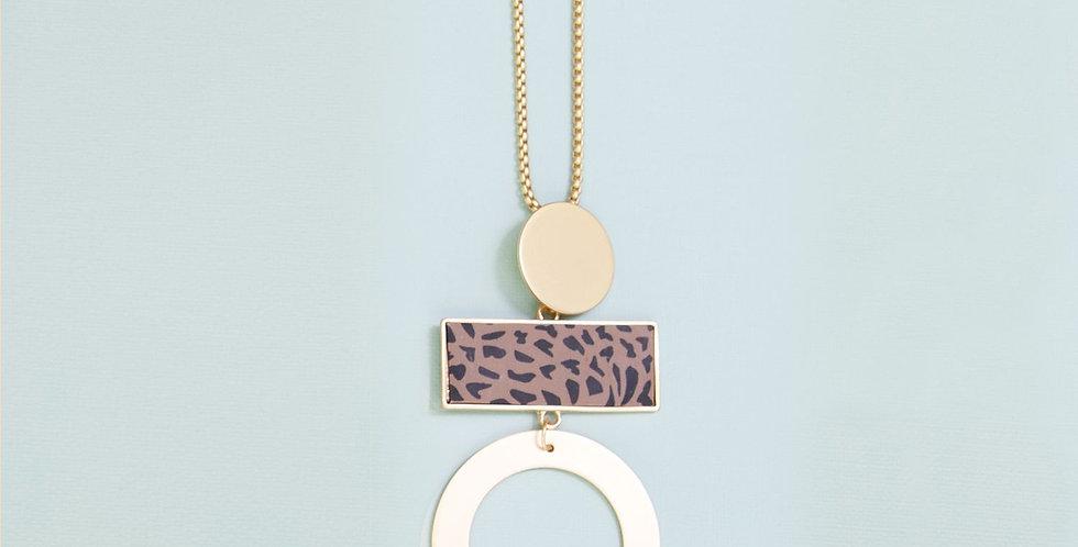 Spencer Necklace - Leopard