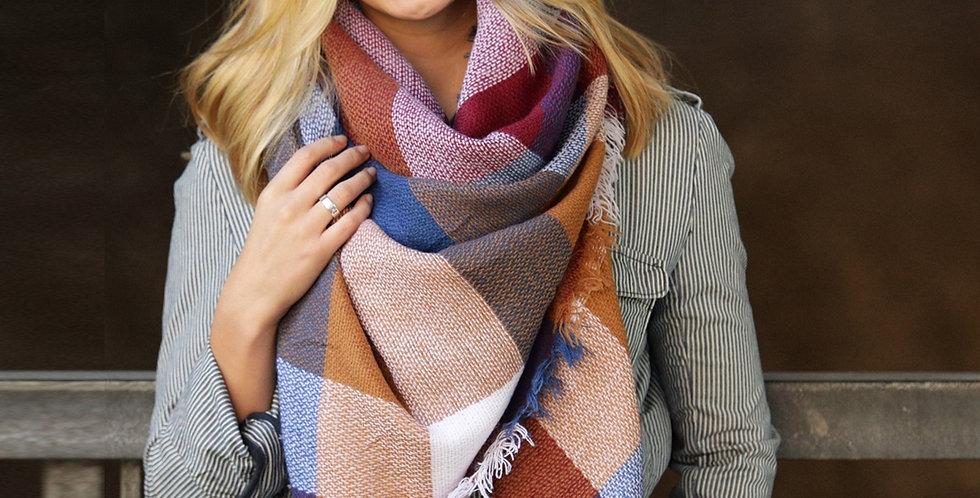 Blanket Scarf - Warm Retreat
