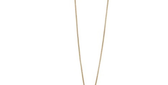Lassen Necklace (Navy Stripes)