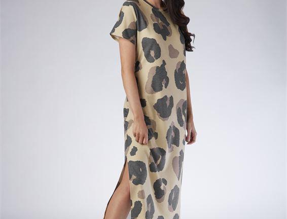 T-Shirt Dress - Leopard