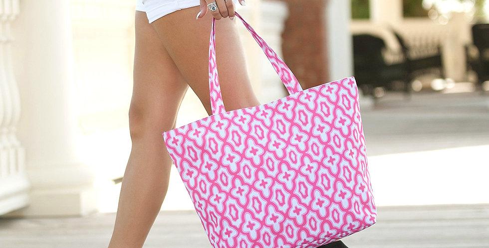 Mosaic Tote (Pink)