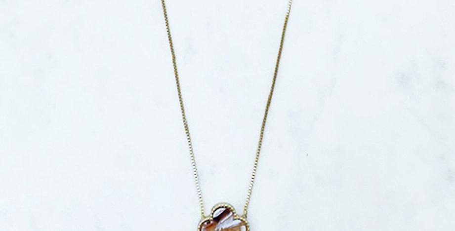 Seabrook Necklace (Light Tortoise)