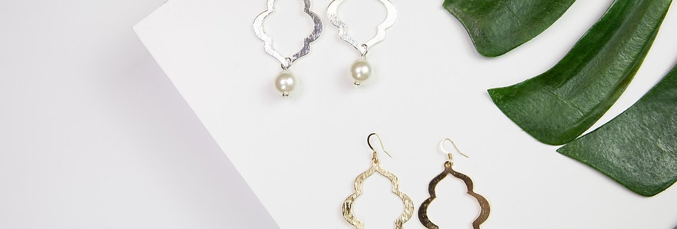 Charleston Earrings - Gold