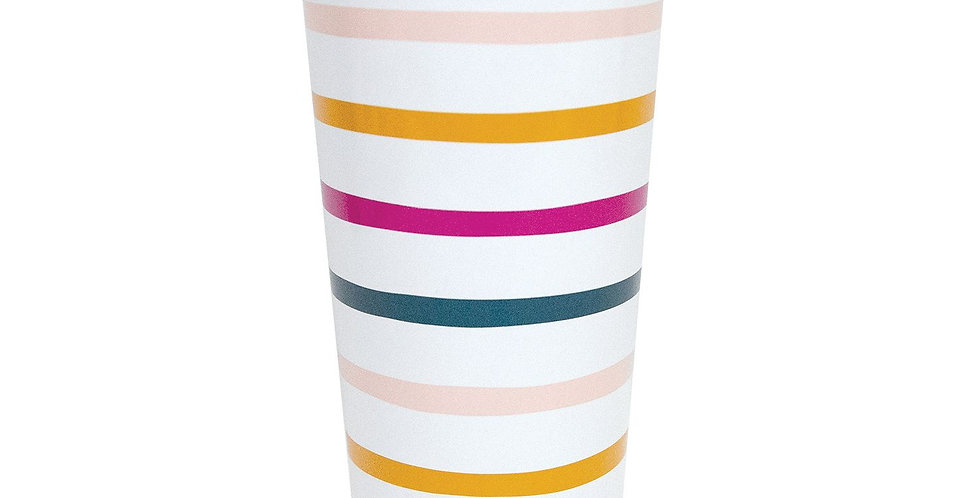 Stainless Large Tumbler - Block Party