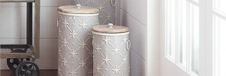 Tall Canisters (Set of 3)