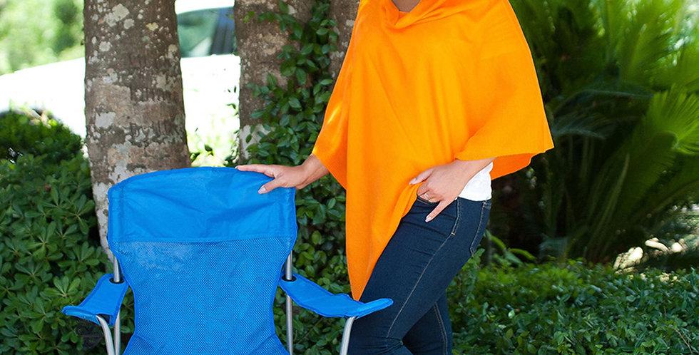 Chelsea Poncho (Orange)