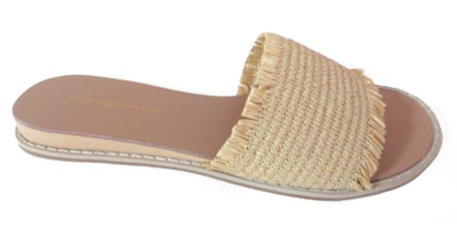 Finley Straw Sandal - Natural