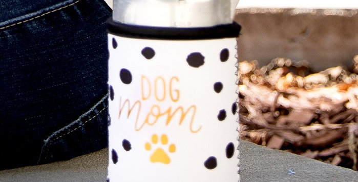 Dog Mom Beverage Sleeve