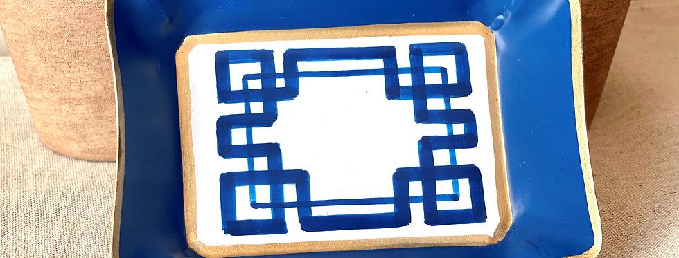 Royal Blue Trinket Tray