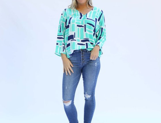 Pippa Top - All Squared Away