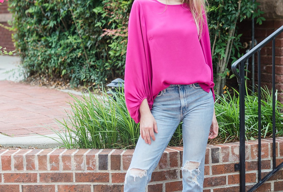 Paxton Top - Pink