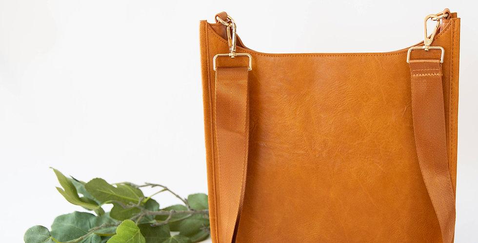 Wonderlust Bag - Cognac