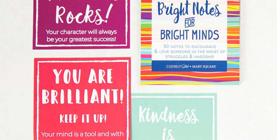 Card Booklet - Bright Notes