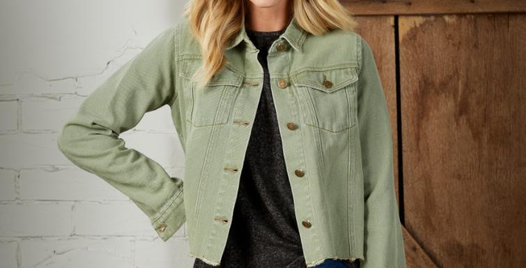 Sage Demin Jacket