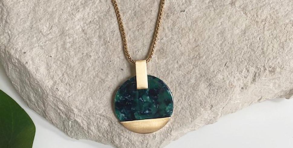 Paris Necklace (Emerald)