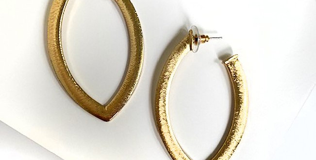 Cancun Earrings - Gold