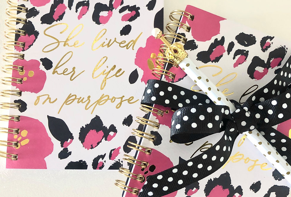 Mini Notebook Gift Set - Purpose