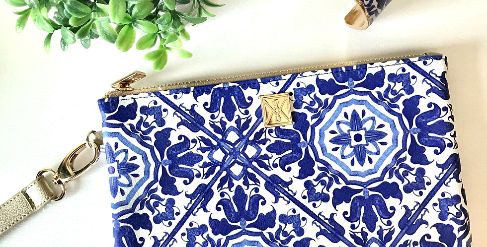 Wynn Clutch (Chinoiserie)