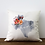 Thumbnail: Warm Floral Watercolor State Pillow