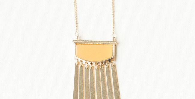 Karis Necklace (Mustard)