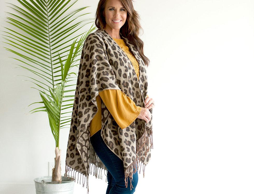 Kennedy Shawl (Leopard)