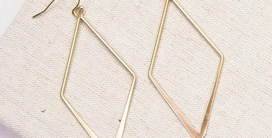 Oslo Diamond Earrings (Gold)